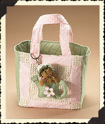 Ella Rose's Small Watering Can Tote Boyds Bear