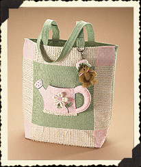 Ella Rose's Watering Can Tote Boyds Bear