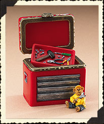 Elliott Sadler Hinged Box Boyds Bear