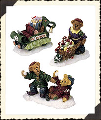 Elves-b-us Workshop Folks Boyds Bear