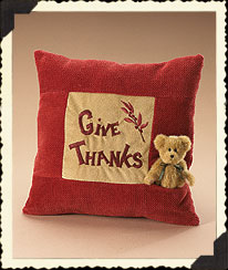 Fallsworth 9-inch Pillow With Bear Boyds Bear