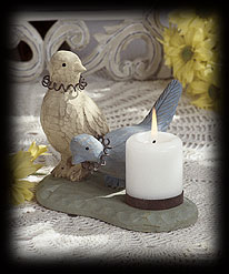 Feathered Friends Tablepiece Boyds Bear