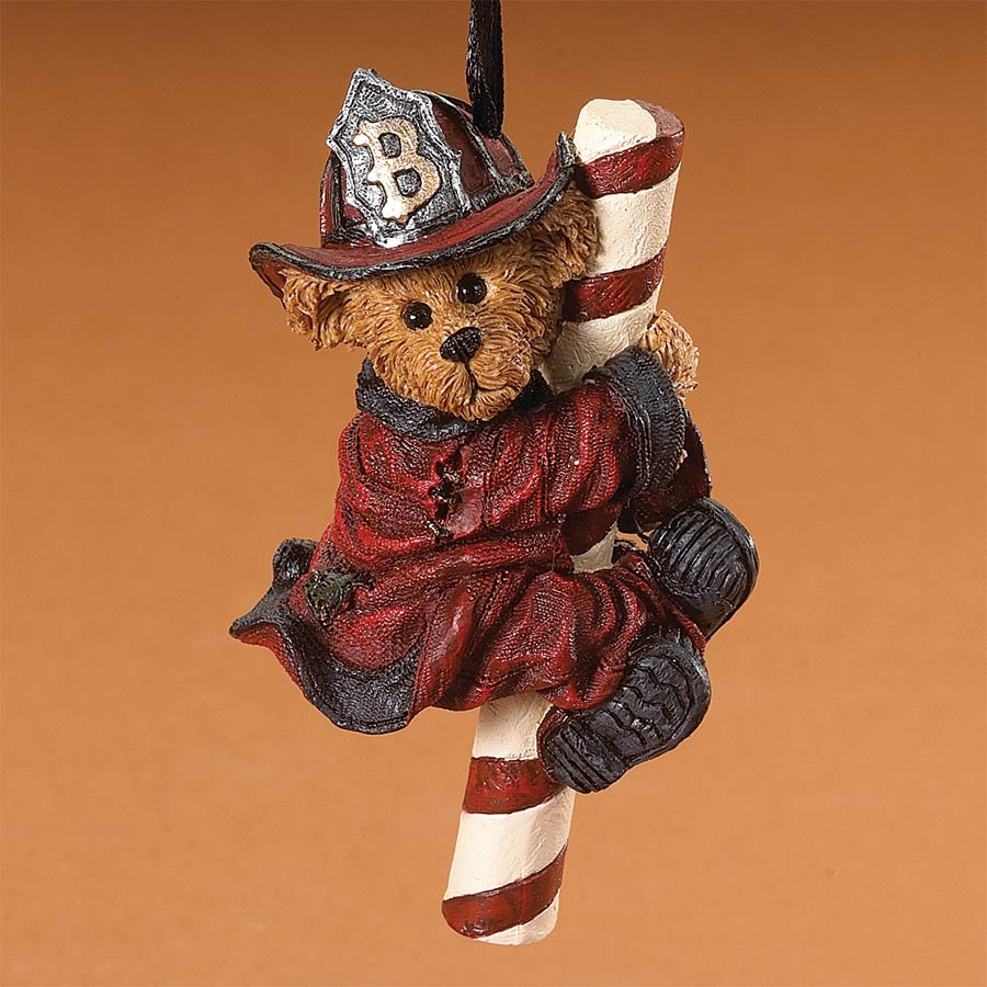 Firefighter Mike Boyds Bear