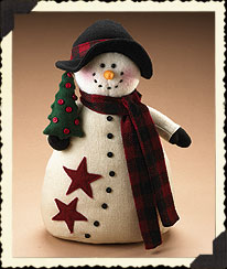 Fleece Snowman Boyds Bear