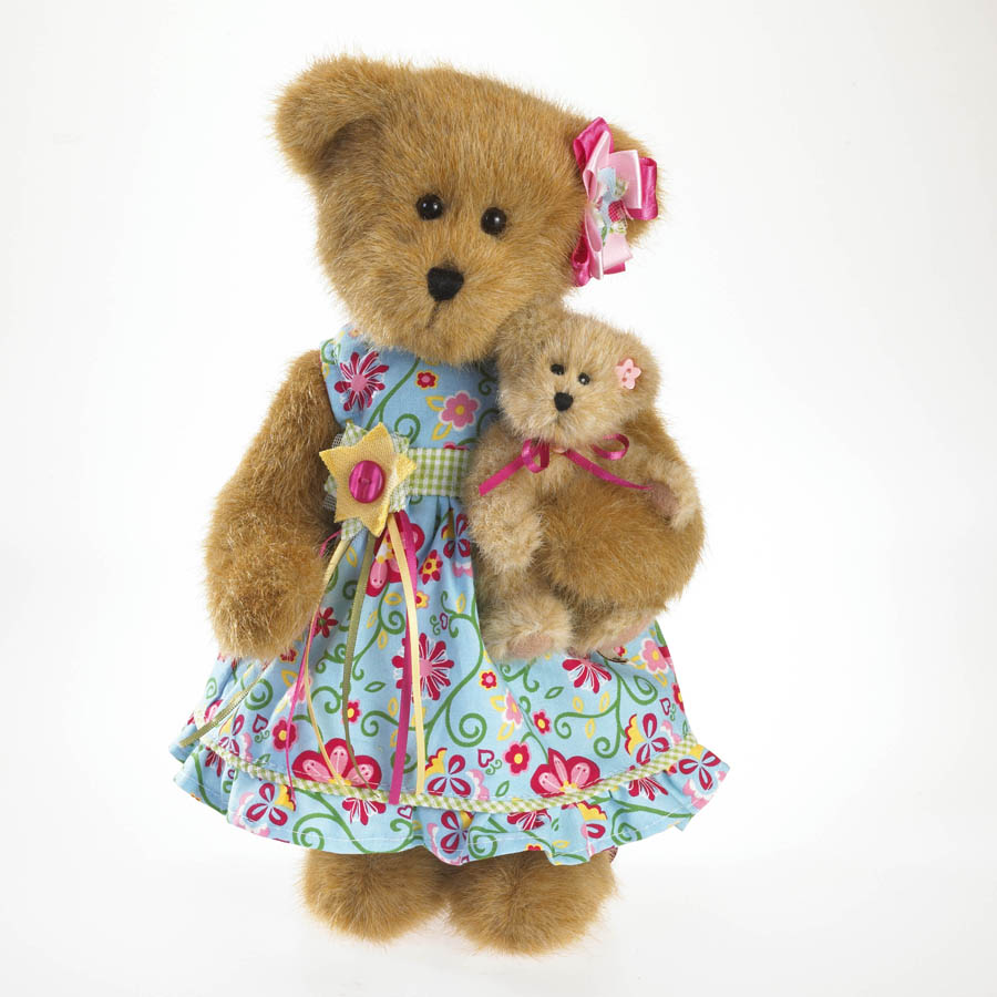 Flora And Lil' Bell Luvinbloom Boyds Bear
