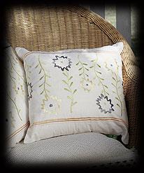 Floral Cushion Cover Boyds Bear