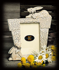 Flower Pot Photo Frame Boyds Bear