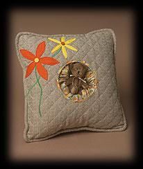 Flowers And Herbs Bear Pillow Boyds Bear