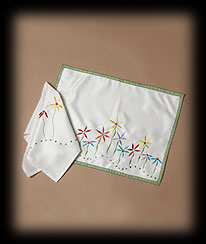Flowers And Herbs Place Mat Boyds Bear