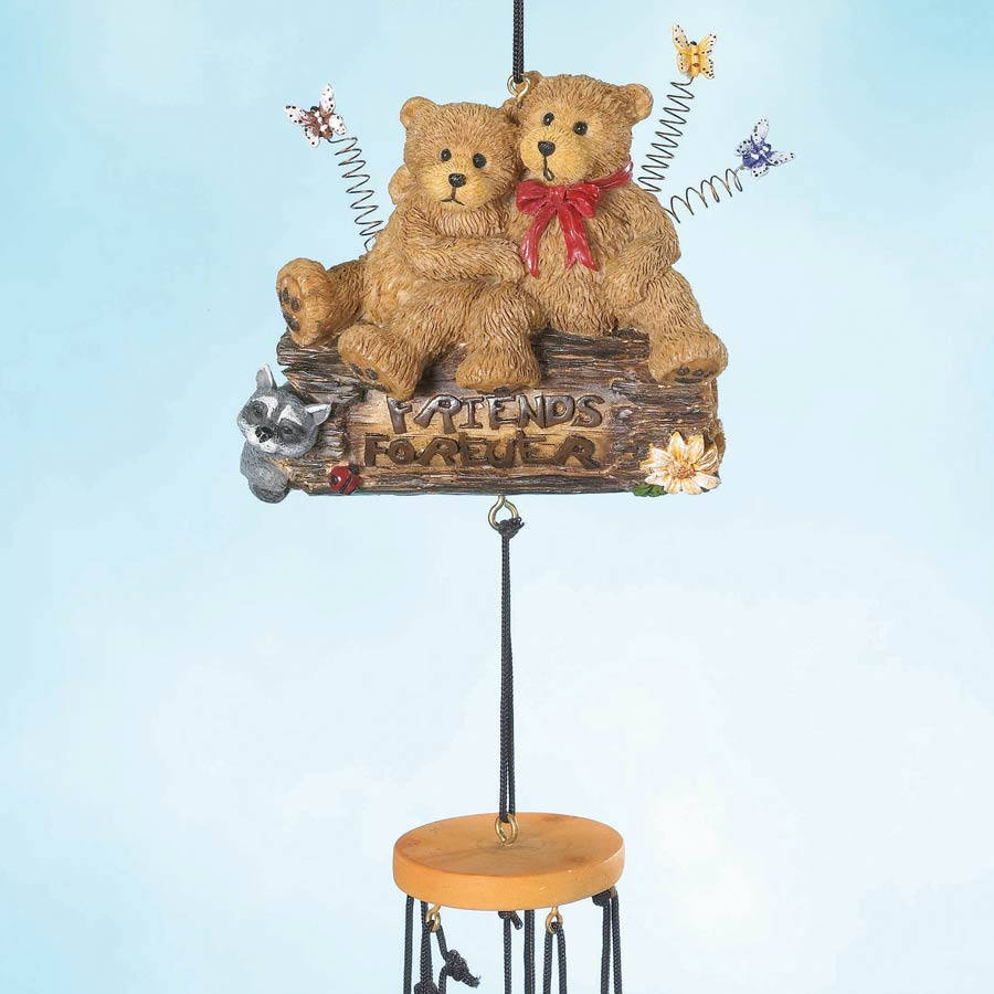 Forever Friends Wind Chime Boyds Bear