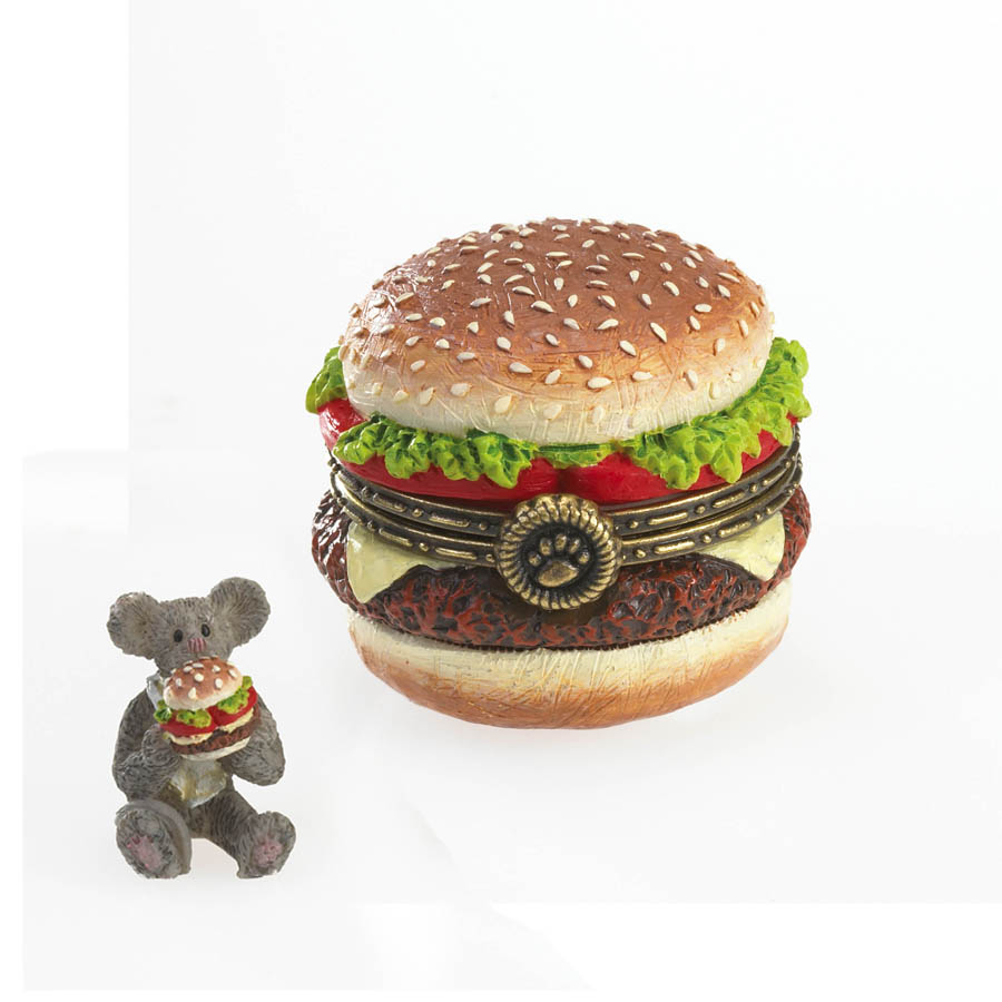 Frankie's Hot-off-the-grill Cheeseburger With Patty Mcnibble Boyds Bear