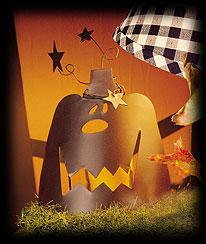 Ghoulish Pumpkin Stand Boyds Bear