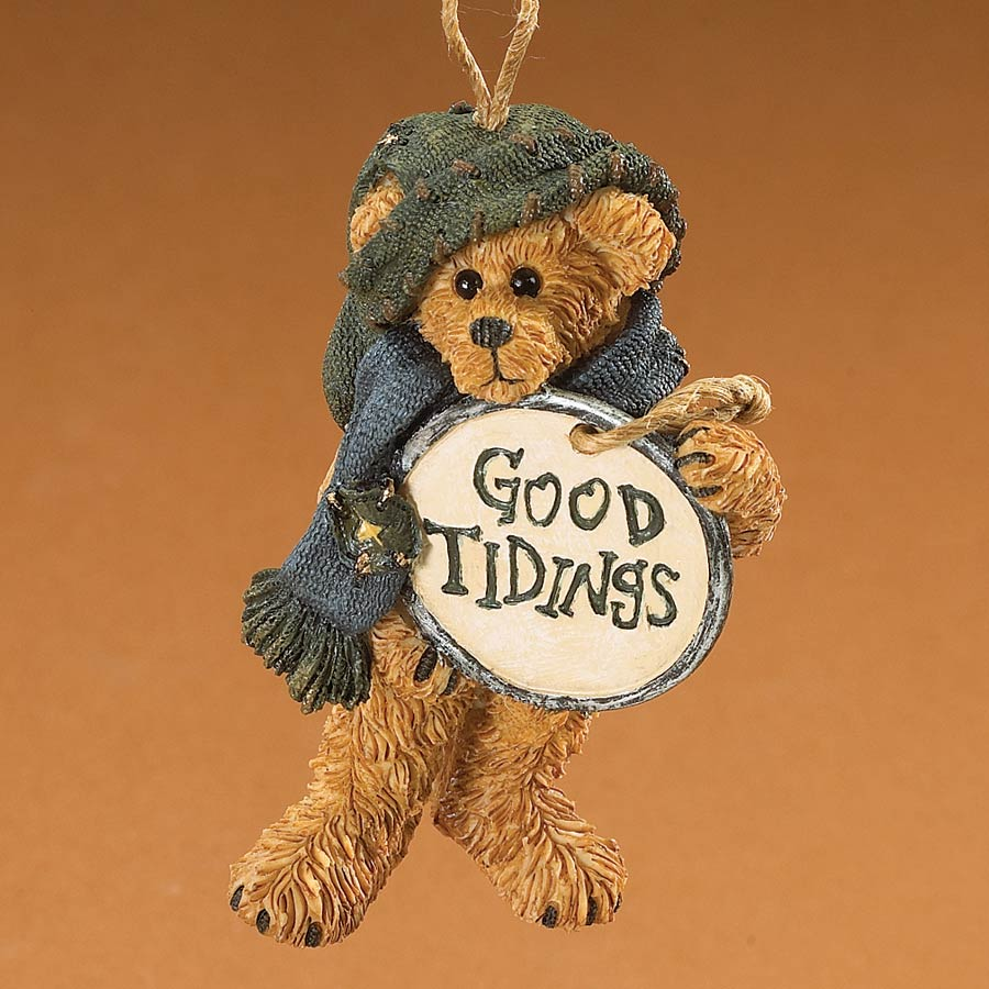 Good Tidings Boyds Bear
