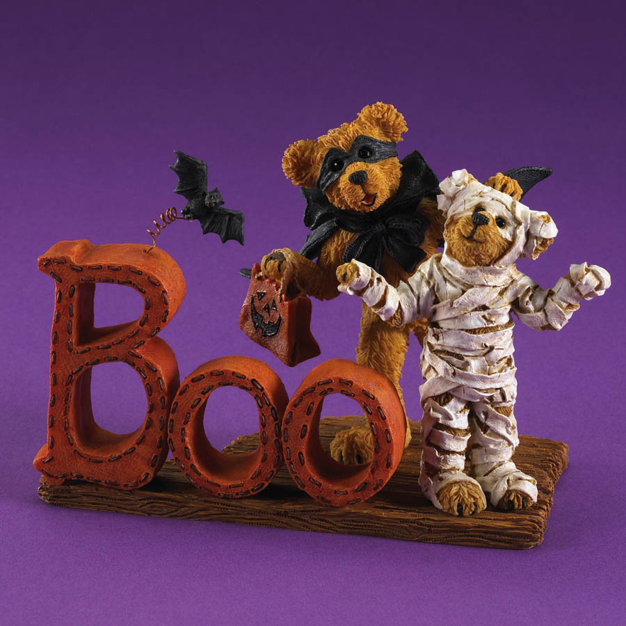 Gordon And Mumster... Did We Scare Ya? Boyds Bear