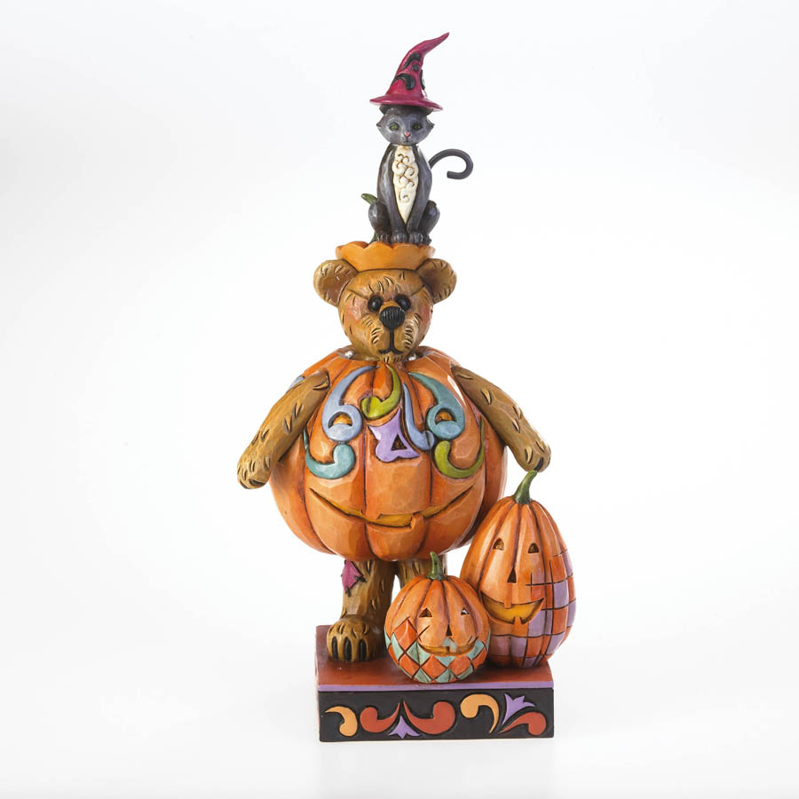 Gourdy T. Punkinbeary With Midnight...  Fright Night Boyds Bear
