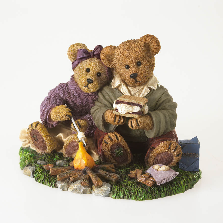 Graham And Marsha... S'more Than Friends Boyds Bear