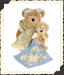 Grammy Quiltsbeary With Patches Boyds Bear
