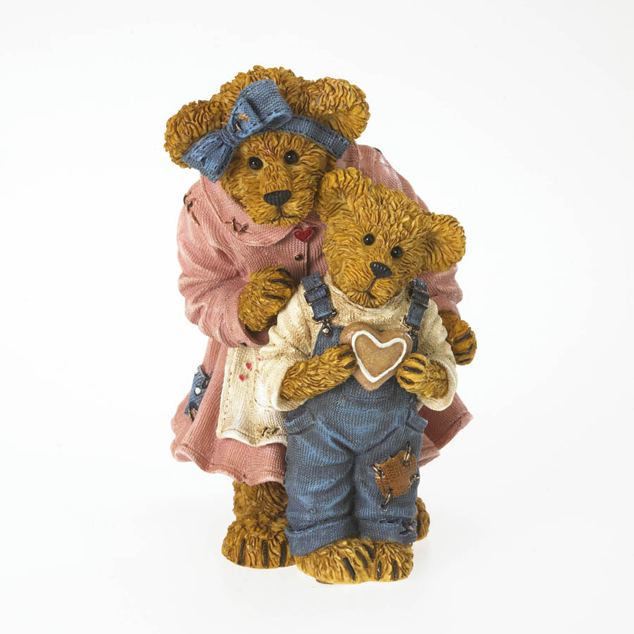 Grandma Bearybake With Lil Helper... Baked With Love Boyds Bear