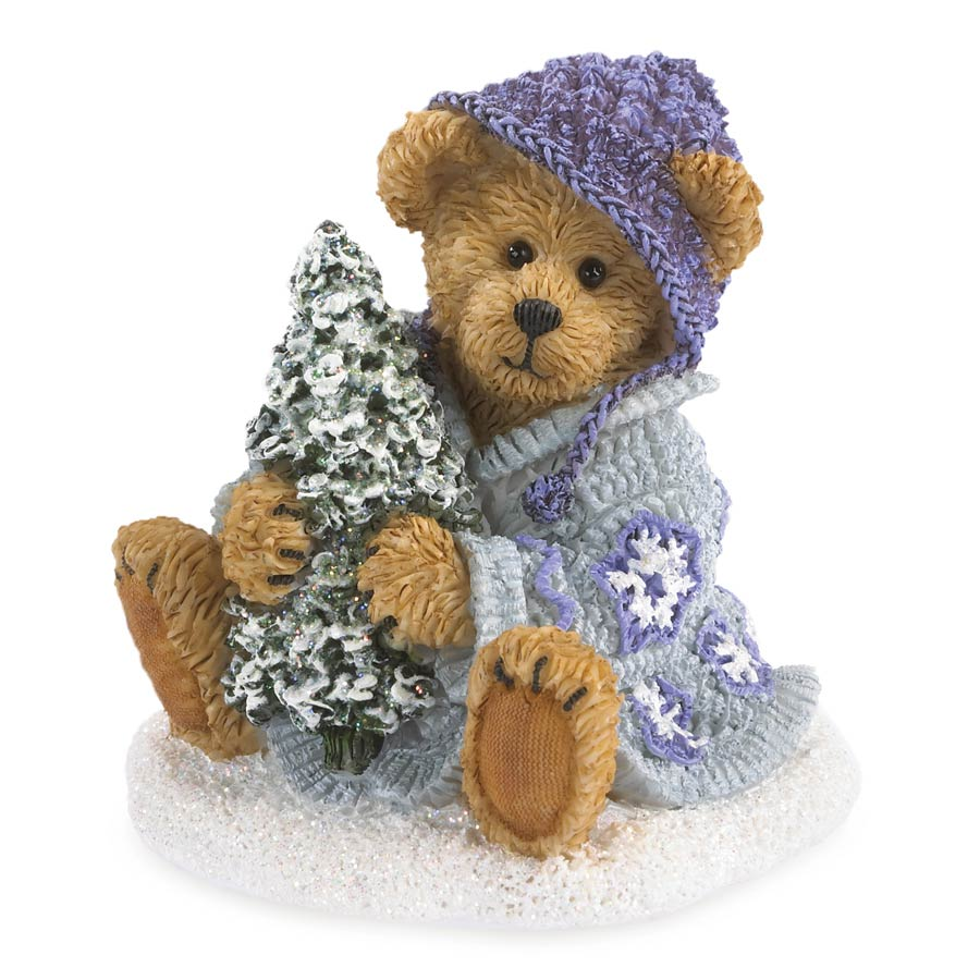 Greta Glitterbeary...winter's Canvas Boyds Bear