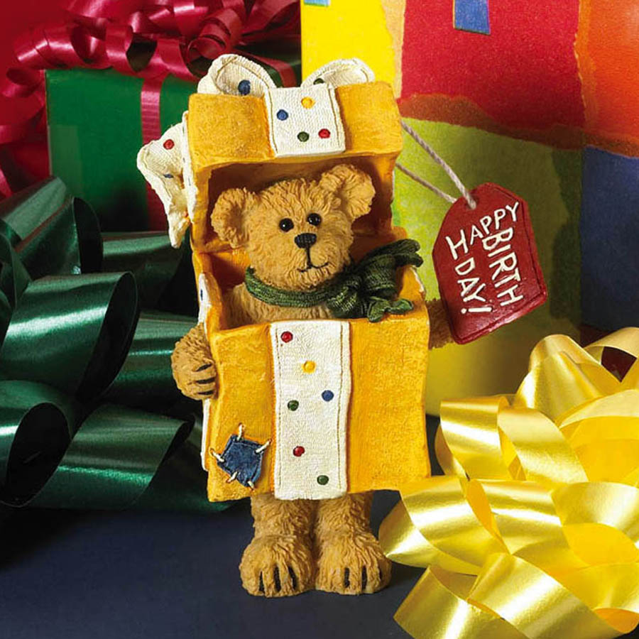 H. B. Bowsley... All Wrapped Up! Boyds Bear