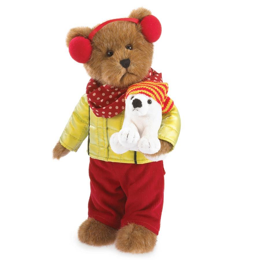 Haley Goodfriend With Lil' Berg Boyds Bear