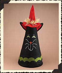 Halloween Cat Cone Boyds Bear