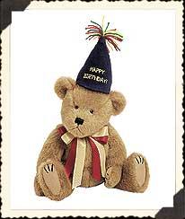 Happy Bearwish Boyds Bear