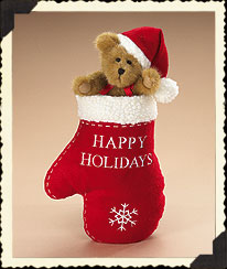 Happy Holidays Mitten 'n Bear Boyds Bear