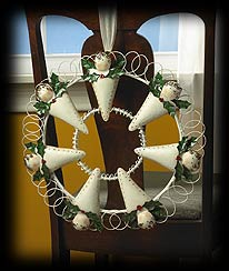 Hark The Herald Angels Wreath Boyds Bear