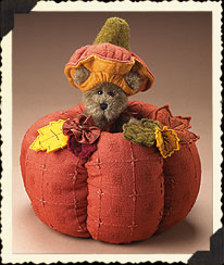 Harvest Quilted Pumpkin 'n Bear Boyds Bear
