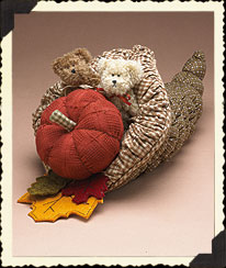Harvest Time Cornucopia Boyds Bear