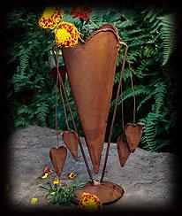 Heart-felt Vase Boyds Bear