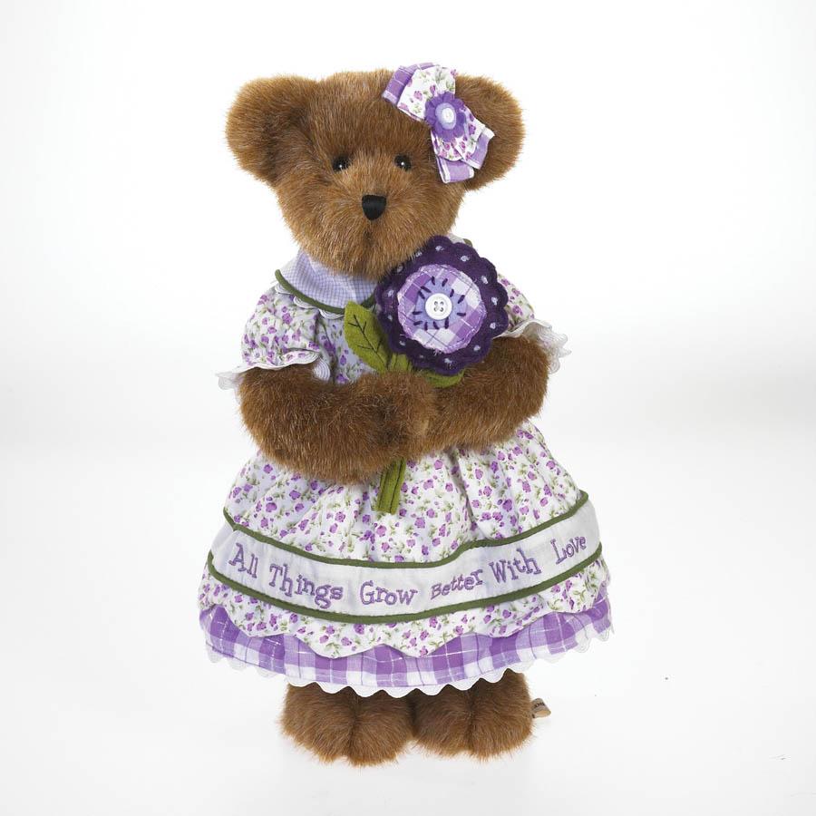 Heather Bloomin' Beary Boyds Bear