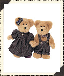 Heather & Heathcliff Plumbeary Boyds Bear