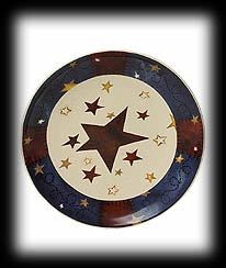 Heavenly Stars Decorative Plate Boyds Bear