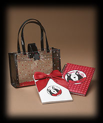 Here Kitty Bag With Notepad And Journal Boyds Bear
