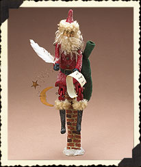 Holiday Homestead Red Santa Boyds Bear