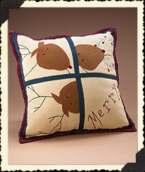 Holiday Homestead Reindeer Pillow Boyds Bear