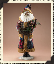 Holiday Homestead Santa Boyds Bear