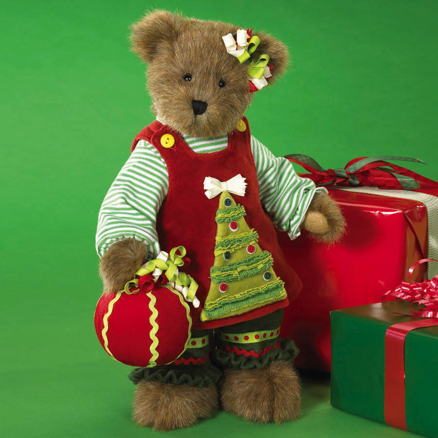 Holly-jolly Dolly Boyds Bear