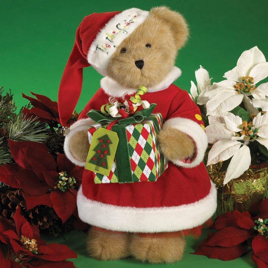 Holly-jolly Molly Boyds Bear