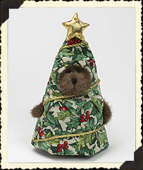 Holly Jolly Peeker Boyds Bear