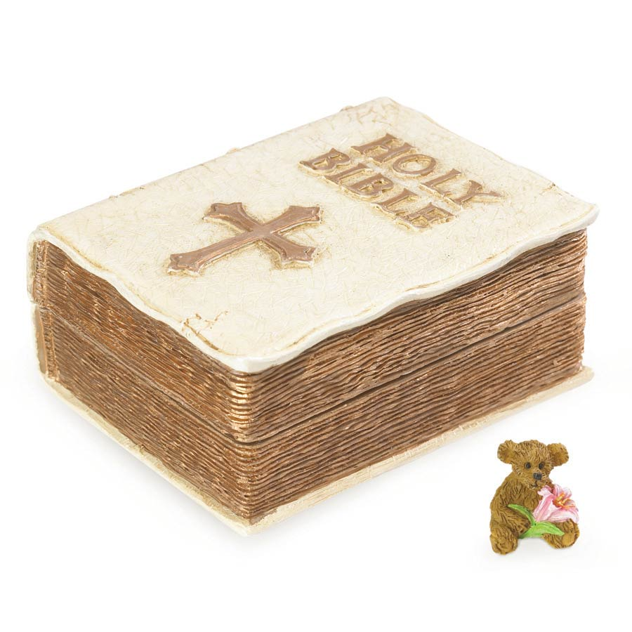 Holy Bible Keepsake Box Boyds Bear