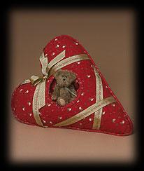 Home Heart-shaped Pillow Boyds Bear
