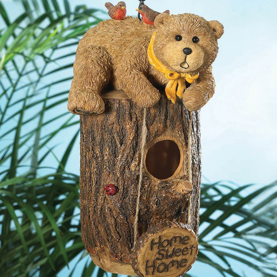 Home Sweet Home Birdhouse Boyds Bear
