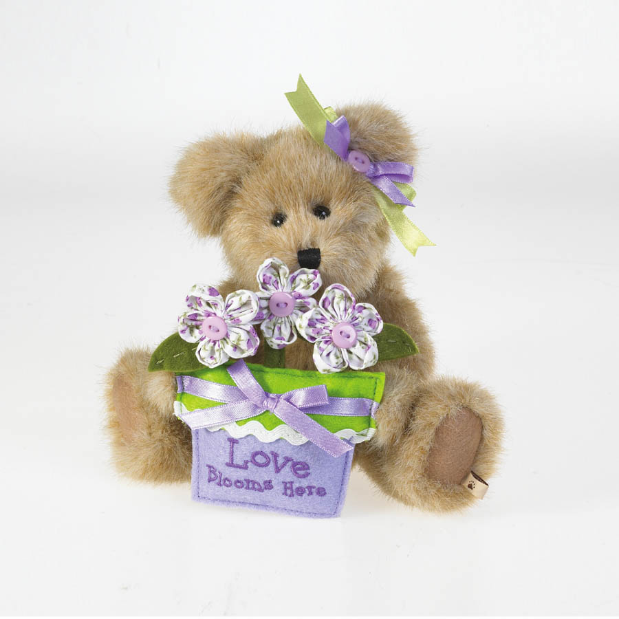 Iris Bloomin' Beary Boyds Bear