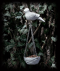Ivory Birds Of A Feather Hanging Feeder Boyds Bear