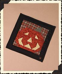 Jack O. Lantern's Quilt Boyds Bear