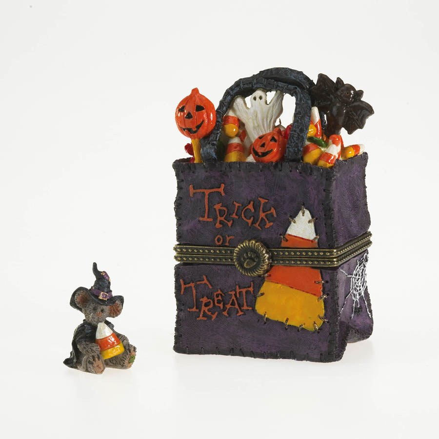 Jackie's Bag O' Treats With Witchy Mcnibble Boyds Bear