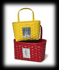 Jake's Wall Baskets Boyds Bear